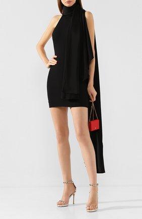 Женское мини-платье SOLACE черного цвета, арт. 0S25074 | Фото 2