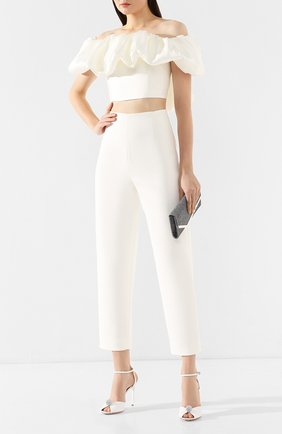 Женские брюки SOLACE белого цвета, арт. 0S25092 | Фото 2