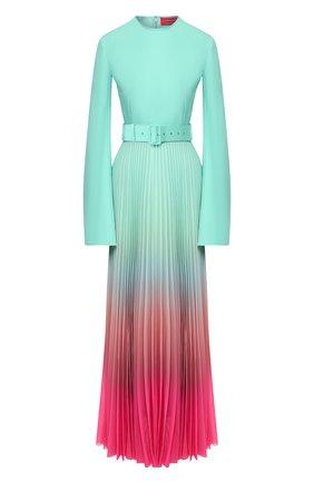 Женское платье-макси SOLACE зеленого цвета, арт. 0S25108 | Фото 1