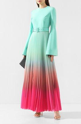 Женское платье-макси SOLACE зеленого цвета, арт. 0S25108 | Фото 2