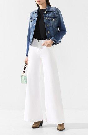 Женская джинсовая куртка FRAME DENIM синего цвета, арт. LVJK204 | Фото 2