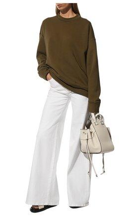 Женские джинсы FRAME DENIM белого цвета, арт. LPP711 | Фото 2