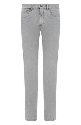 Мужские джинсы ERMENEGILDO ZEGNA светло-серого цвета, арт. UUI52/JS02 | Фото 1