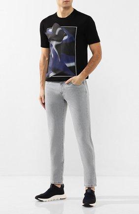 Мужские джинсы ERMENEGILDO ZEGNA светло-серого цвета, арт. UUI52/JS02 | Фото 2