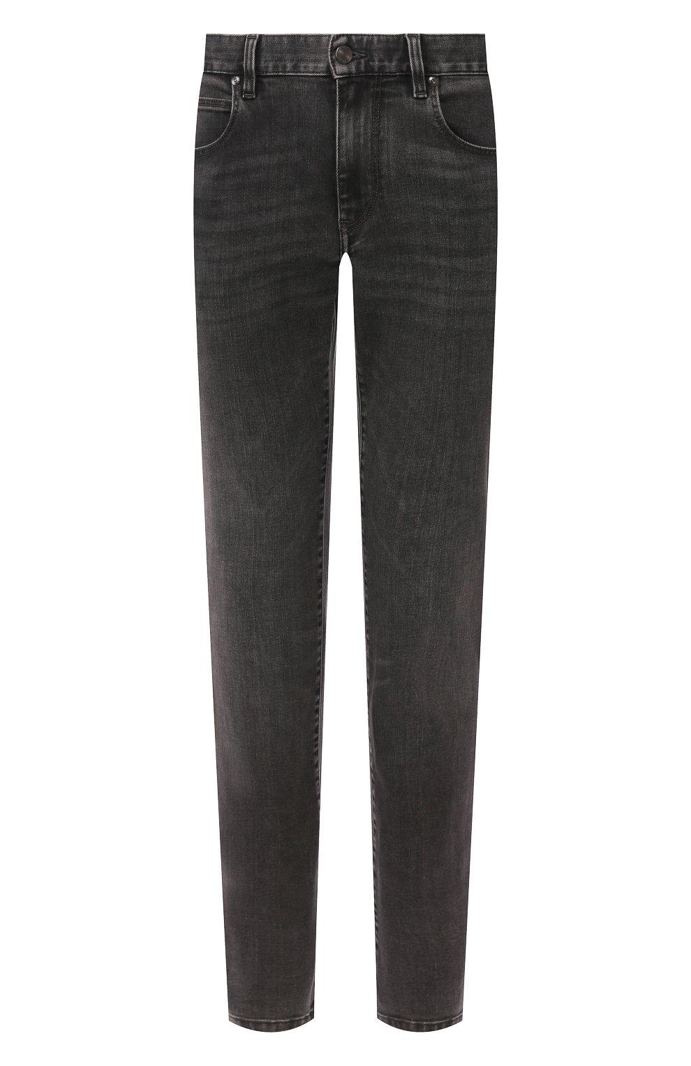 Мужские джинсы Z ZEGNA темно-серого цвета, арт. VU712/ZZ510   Фото 1