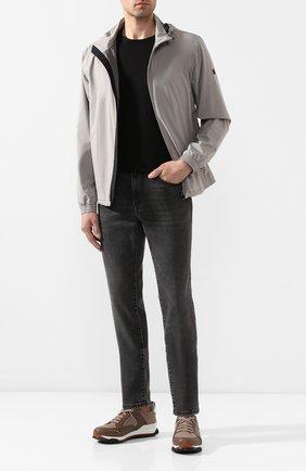 Мужские джинсы Z ZEGNA темно-серого цвета, арт. VU712/ZZ510 | Фото 2