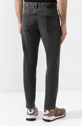 Мужские джинсы Z ZEGNA темно-серого цвета, арт. VU712/ZZ510   Фото 4