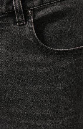 Мужские джинсы Z ZEGNA темно-серого цвета, арт. VU712/ZZ510   Фото 5