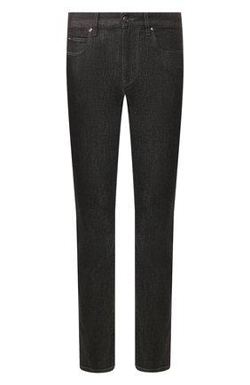 Мужские джинсы Z ZEGNA черного цвета, арт. VU721/ZZ530 | Фото 1