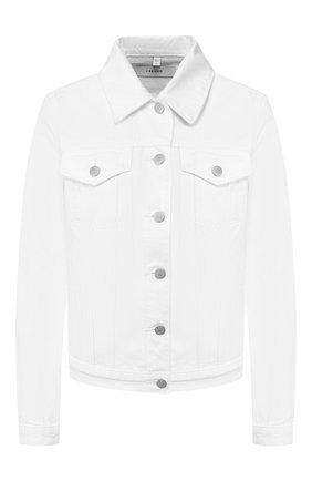 Женская джинсовая куртка J BRAND белого цвета, арт. JB000787/B | Фото 1