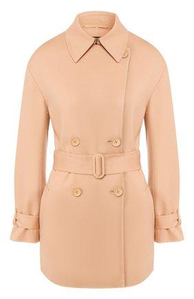 Женское кашемировое пальто LORO PIANA бежевого цвета, арт. FAI9564 | Фото 1