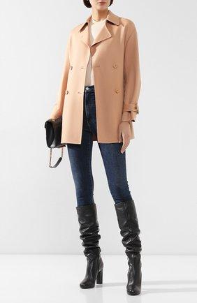 Женское кашемировое пальто LORO PIANA бежевого цвета, арт. FAI9564 | Фото 2