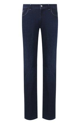 Мужские джинсы ZILLI темно-синего цвета, арт. MCT-00049-JABI1/R001 | Фото 1