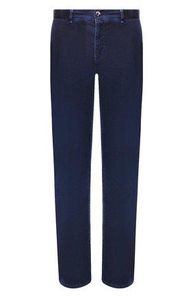 Мужские джинсы ZILLI темно-синего цвета, арт. MCT-00079-DEUL1/R001   Фото 1