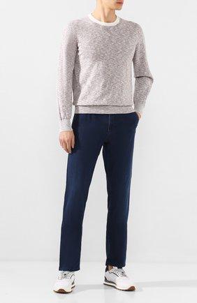 Мужские джинсы ZILLI синего цвета, арт. MCT-00079-DEUL1/R001 | Фото 2