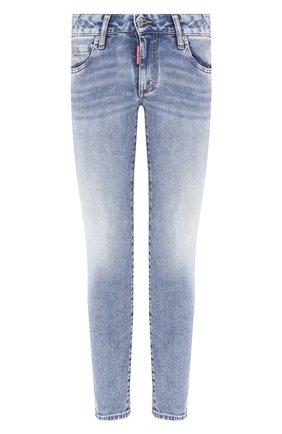 Женские джинсы DSQUARED2 темно-синего цвета, арт. S75LB0301/S30595 | Фото 1