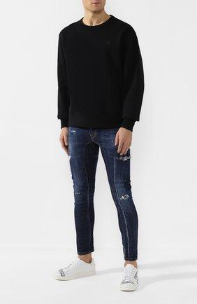 Мужские джинсы DSQUARED2 темно-синего цвета, арт. S74LB0714/S30342 | Фото 2