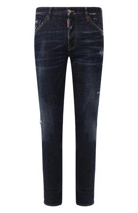 Мужские джинсы DSQUARED2 темно-синего цвета, арт. S74LB0679/S30664   Фото 1