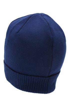 Мужская шерстяная шапка true CANOE темно-синего цвета, арт. 4801041 | Фото 2
