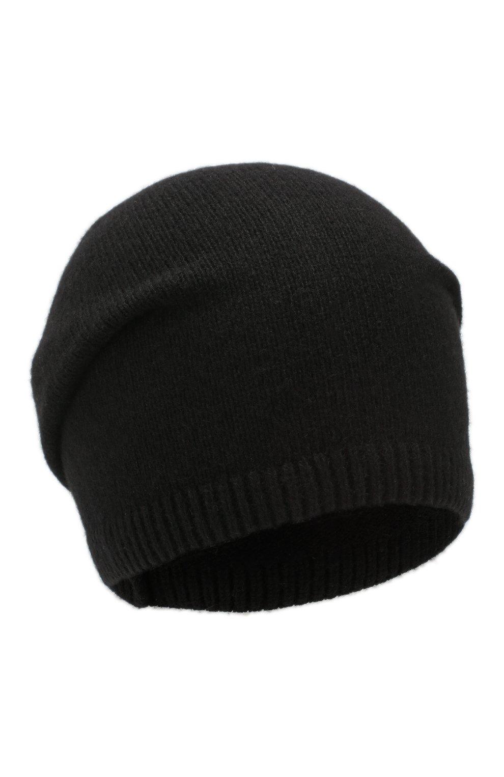 Мужская кашемировая шапка next CANOE черного цвета, арт. 3441951 | Фото 1