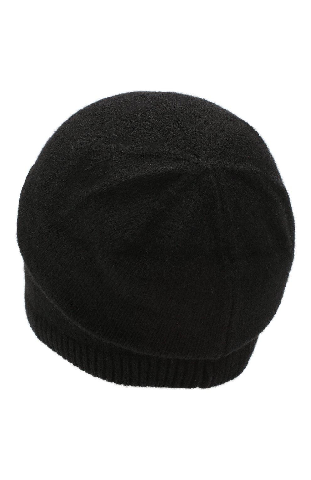 Мужская кашемировая шапка next CANOE черного цвета, арт. 3441951 | Фото 2