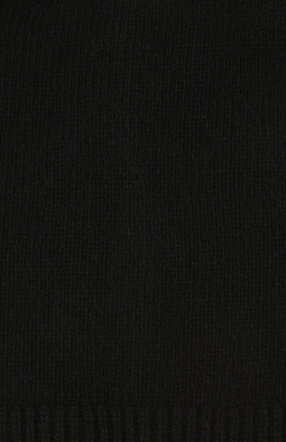Мужская кашемировая шапка next CANOE черного цвета, арт. 3441951 | Фото 3