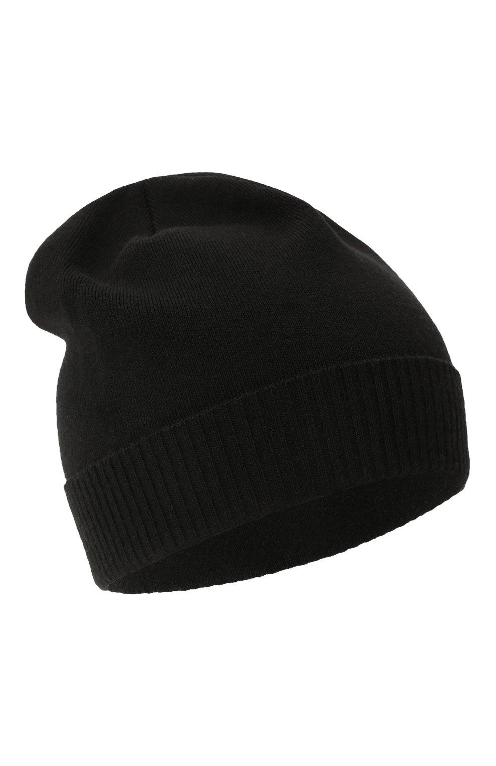 Мужская шерстяная шапка true CANOE черного цвета, арт. 4801010   Фото 1