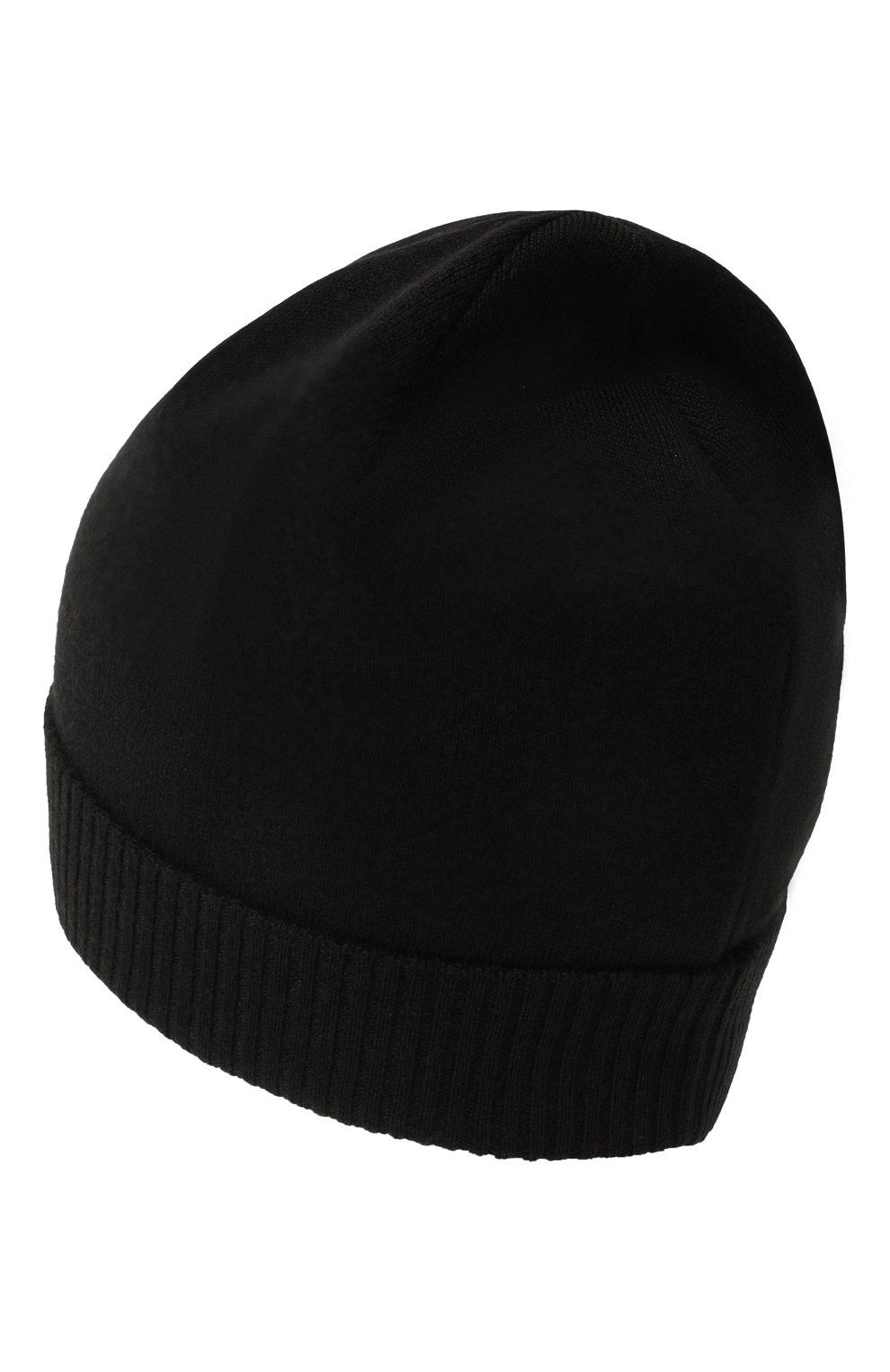 Мужская шерстяная шапка true CANOE черного цвета, арт. 4801010   Фото 2