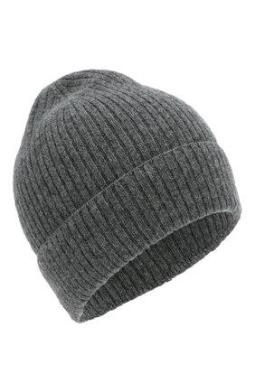 Мужская кашемировая шапка lyon CANOE темно-серого цвета, арт. 4912271 | Фото 1