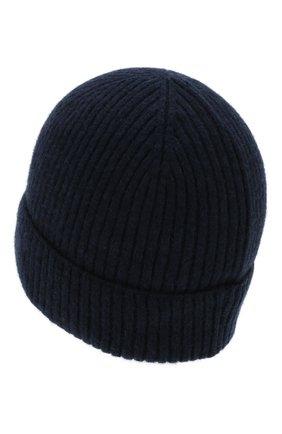 Мужская кашемировая шапка lyon CANOE темно-синего цвета, арт. 4912241 | Фото 2