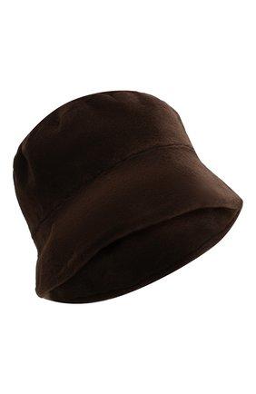 Мужская шляпа из меха норки FURLAND коричневого цвета, арт. 0004200150034300000   Фото 1