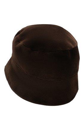 Мужская шляпа из меха норки FURLAND коричневого цвета, арт. 0004200150034300000   Фото 2