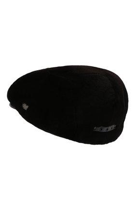 Мужская кепка из меха норки KUSSENKOVV темно-коричневого цвета, арт. 350210004221 | Фото 2