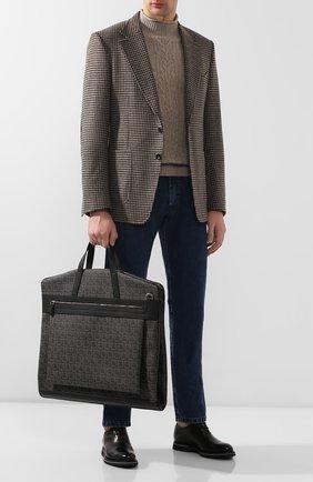Мужская дорожная сумка SALVATORE FERRAGAMO темно-серого цвета, арт. Z-0716630 | Фото 2