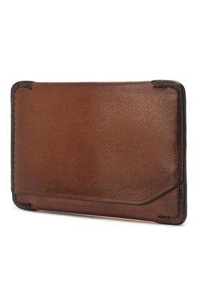 Мужской кожаный футляр для кредитных карт BERLUTI коричневого цвета, арт. N152792 | Фото 2