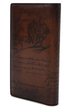 Мужской кожаное портмоне BERLUTI коричневого цвета, арт. N135264 | Фото 2