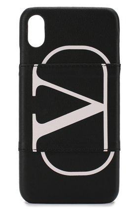 Мужской чехол для iphone x/xs VALENTINO черного цвета, арт. SY2P0Q89/PCR | Фото 1