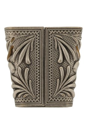Мужская кольцо для платка RRL серебряного цвета, арт. 417754808001 | Фото 2