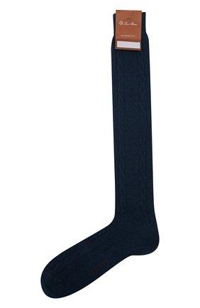 Мужские кашемировые носки LORO PIANA бирюзового цвета, арт. FAI8976 | Фото 1