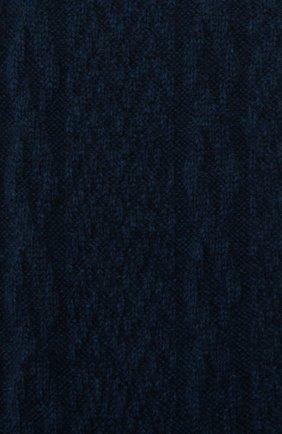 Мужские кашемировые носки LORO PIANA бирюзового цвета, арт. FAI8976 | Фото 2