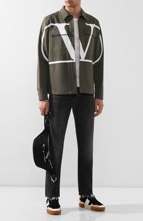Текстильная поясная сумка Valentino Garavani | Фото №2