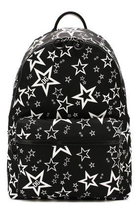 Мужской текстильный рюкзак vulcano DOLCE & GABBANA черного цвета, арт. BM1607/AJ610 | Фото 1