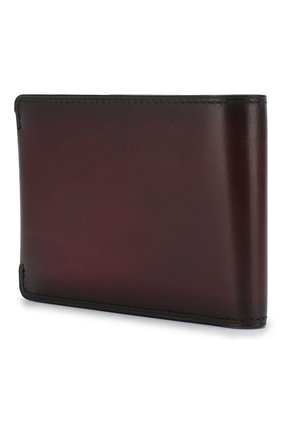 Мужской кожаное портмоне BERLUTI бордового цвета, арт. N176396 | Фото 2