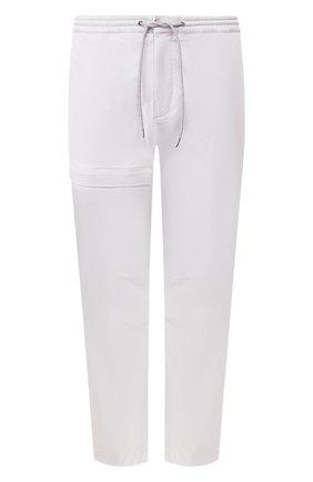 Мужской хлопковые брюки Z ZEGNA серого цвета, арт. VU142/ZZ395 | Фото 1