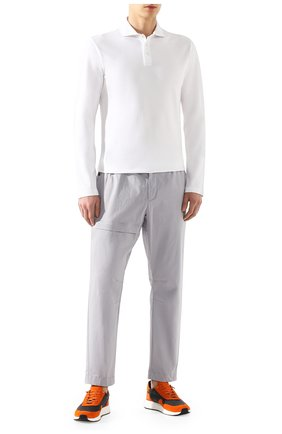 Мужской хлопковые брюки Z ZEGNA серого цвета, арт. VU142/ZZ395 | Фото 2