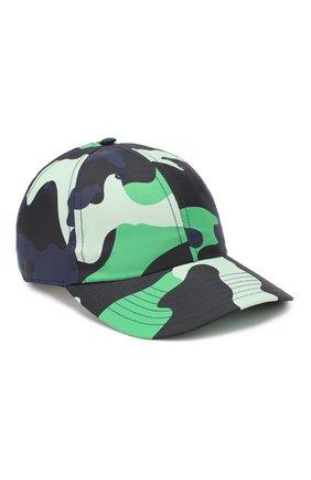 Мужской бейсболка VALENTINO зеленого цвета, арт. TY2HDA00XWA | Фото 1