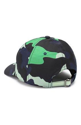 Мужской бейсболка VALENTINO зеленого цвета, арт. TY2HDA00XWA | Фото 2