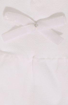 Детские гольфы бантики YULA белого цвета, арт. YU-25   Фото 2 (Материал: Текстиль, Синтетический материал; Статус проверки: Проверена категория)