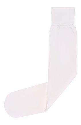 Детские гольфы YULA белого цвета, арт. YU-83   Фото 1 (Материал: Текстиль, Синтетический материал; Статус проверки: Проверена категория)