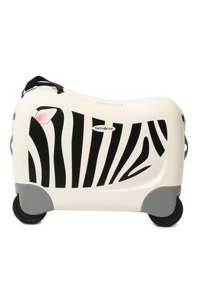 Детский чемодан dream rider SAMSONITE белого цвета, арт. CK8-05001 | Фото 1